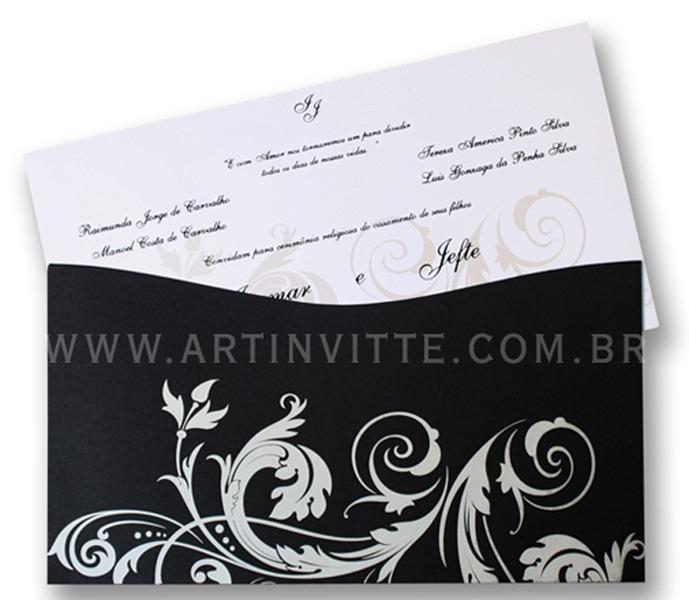 Convite de Casamento Madri MD 001