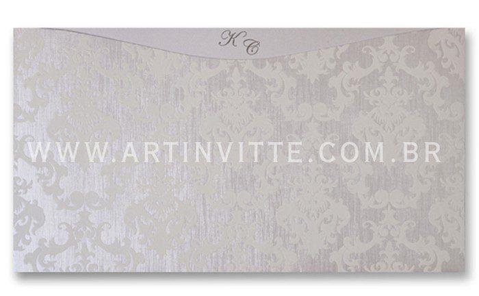 Convite de Casamento Madri MD 019