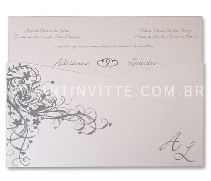 Convite de Casamento Madri MD 021