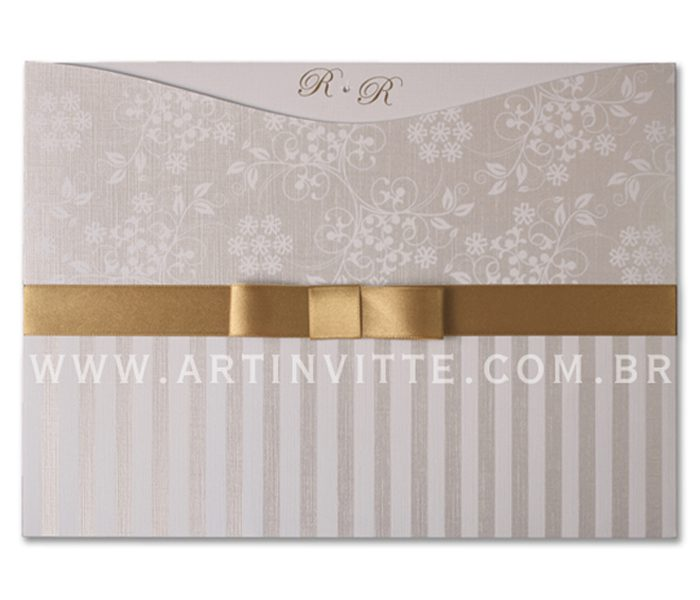 Convite de Casamento Madri MD 025