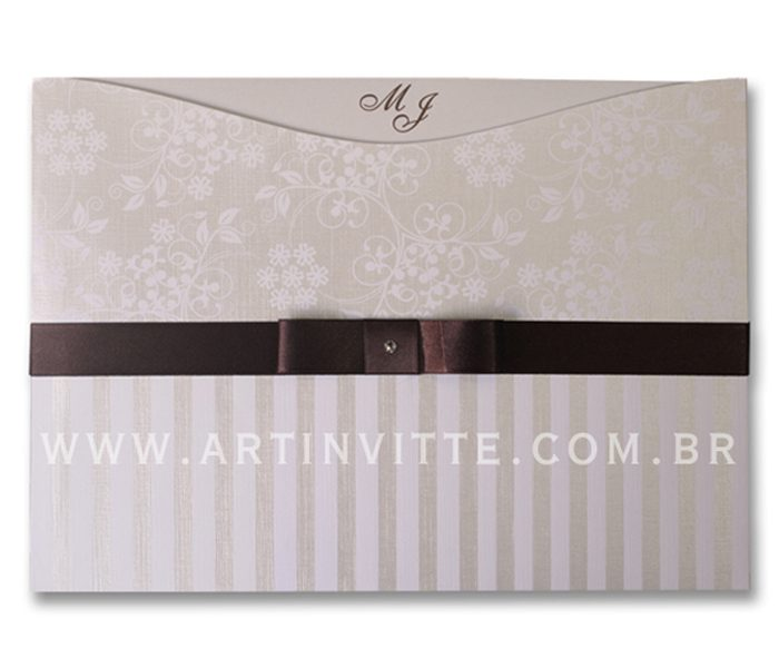 Convite de Casamento Madri MD 028