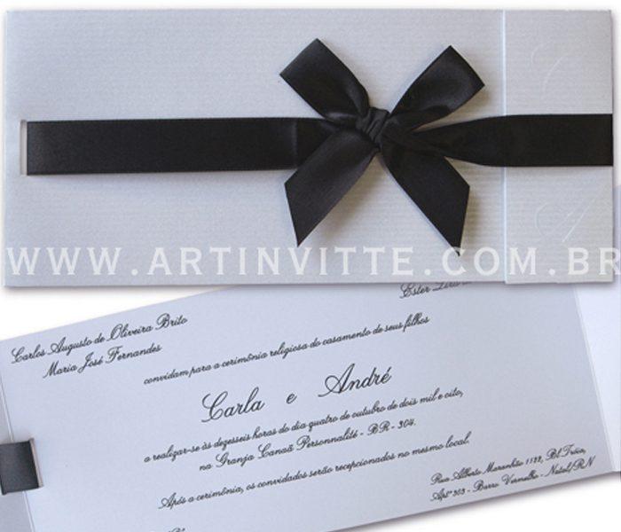 Convite de Casamento Paris PR 006