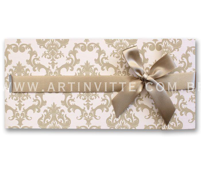 Convite de Casamento Paris PR 014