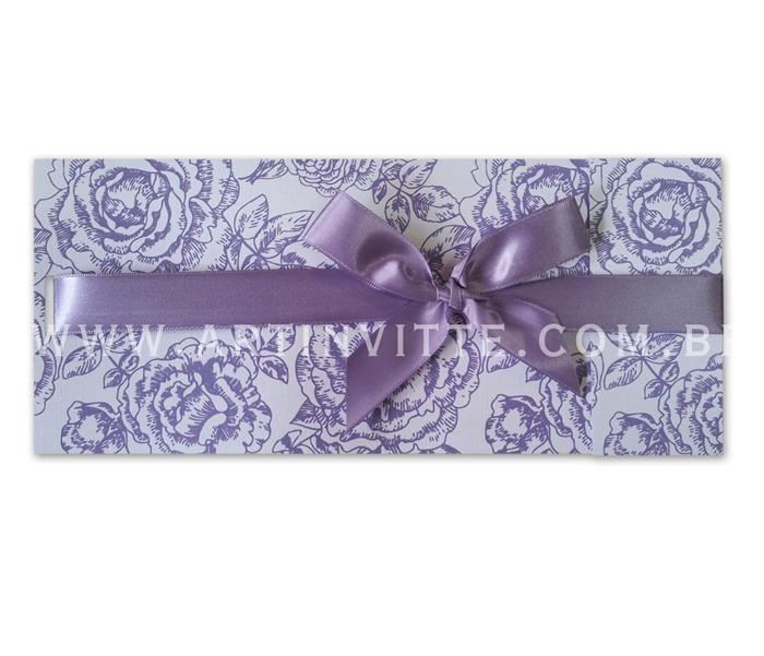 Convite de Casamento Paris PR 019