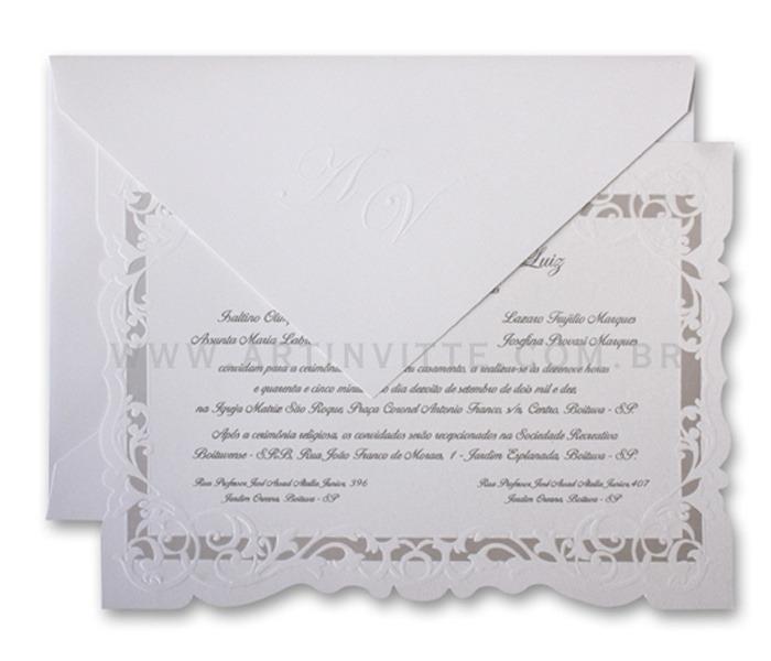 Convite de Casamento Sevilha SV 002