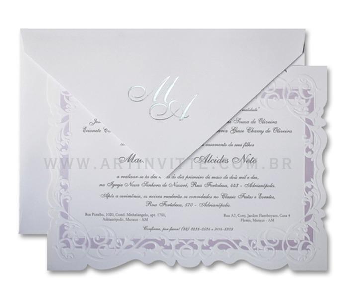 Convite de Casamento Sevilha SV 005