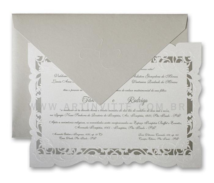 Convite de Casamento Sevilha SV 008