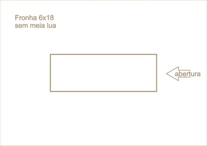 Envelope fronha sem meia lua 007