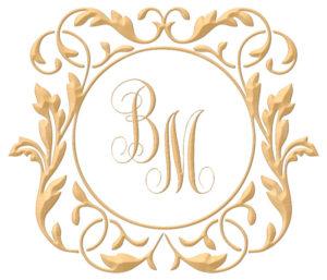 Brasão para convite de casamento modelo 119 - Art Invitte Convites