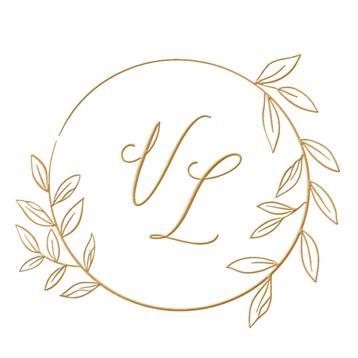 Brasão para convite de casamento modelo 126 - Art Invitte Convites