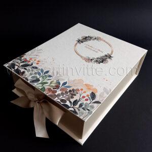 Caixas para padrinhos 024, gravata, taças, doces
