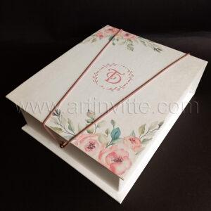 Caixas para padrinhos 025, gravata, taças, doces