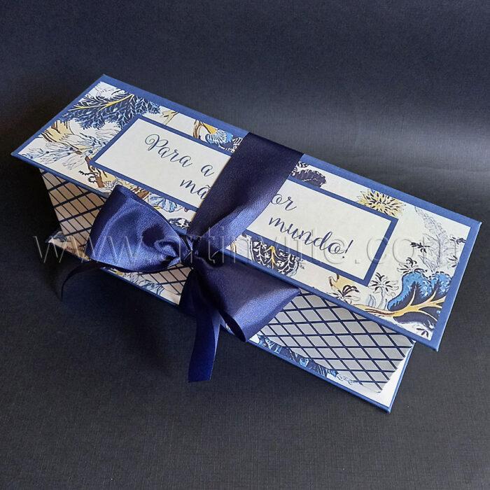 Caixa cartonada para mini Chandon - Presente dia das mães