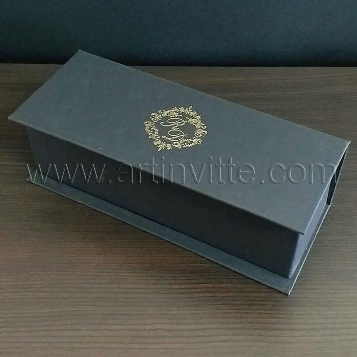 Caixas para padrinhos 011, gravata, taças, doces