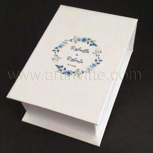 Caixas para padrinhos 001, gravata, taças, doces