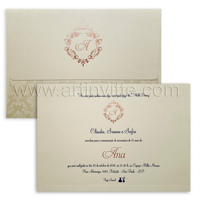Convite de Casamento Tradicionais 2