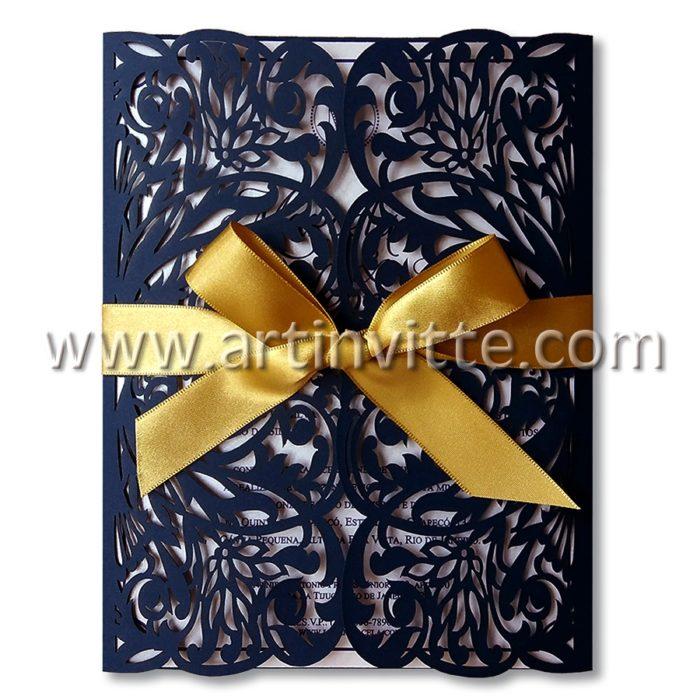 Convite de Casamento CCL-013 Art Invitte Convites