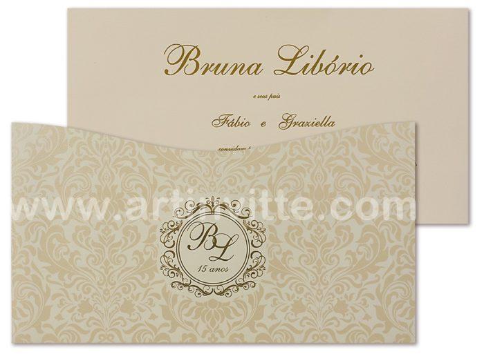 Convite Casamento Madri MD 035-