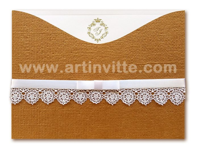 Convite de casamento Madri MD 037