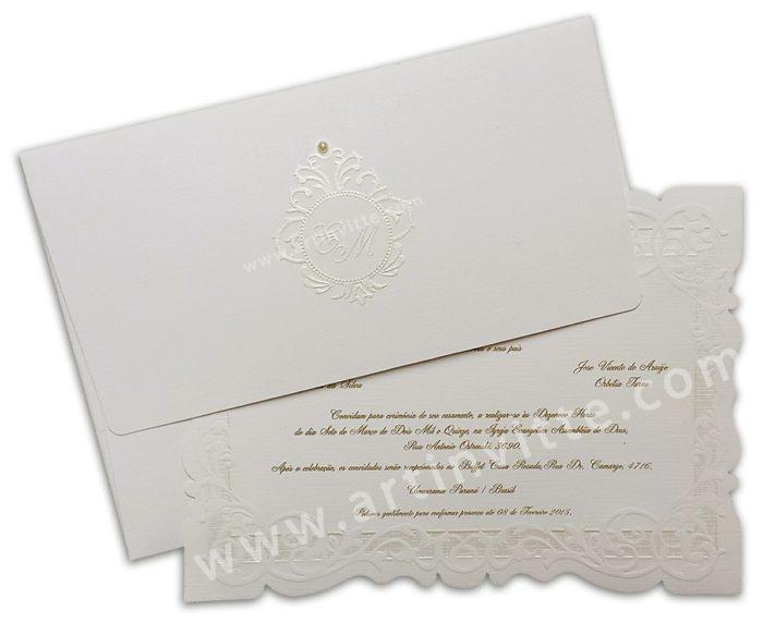 Convite de Casamento Sevilha SV 010