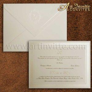 Modelos de convites de casamento 2