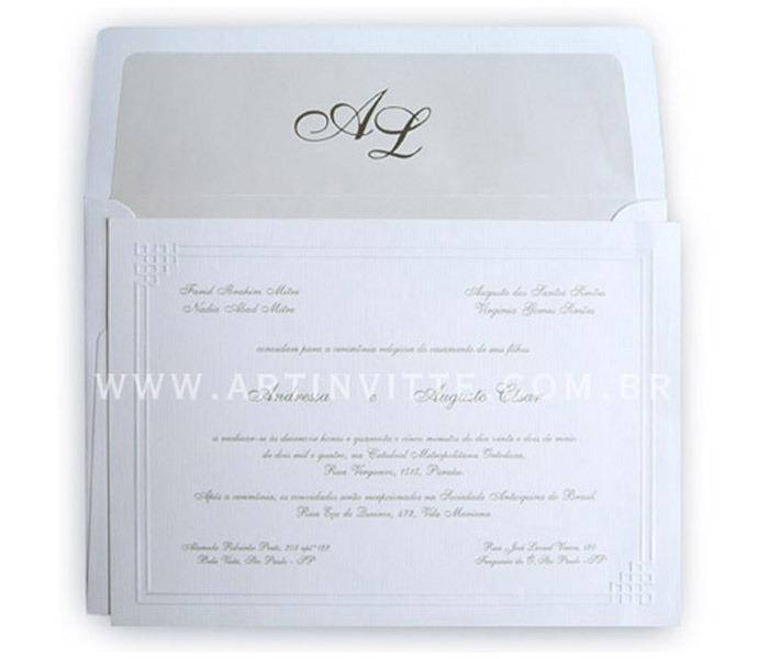 Convite de Casamento São Francisco SF 001