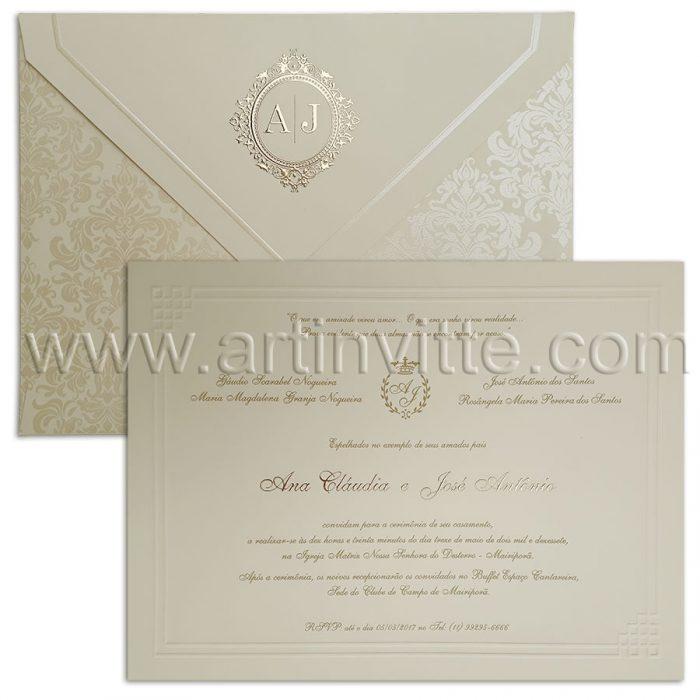 Convite de Casamento São Francisco SF 004