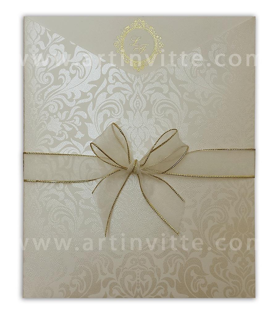 Convite de casamento Fronha FR 034