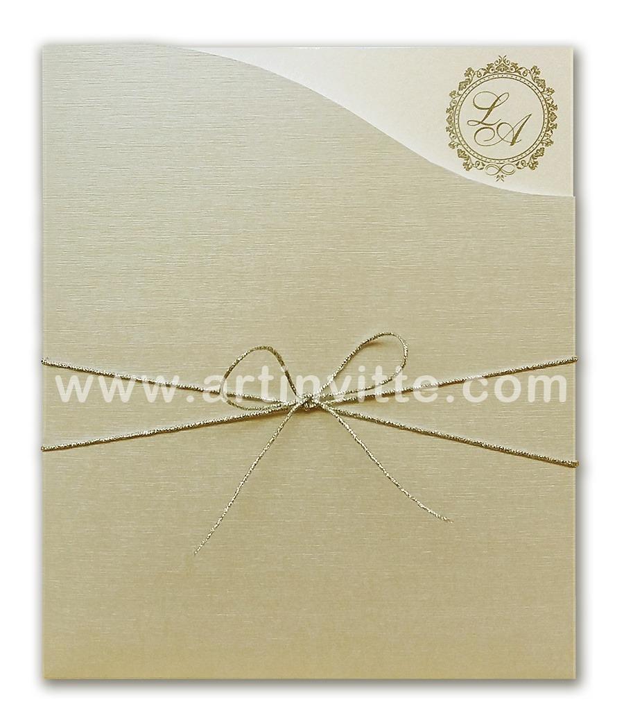 Convite de Casamento Fronha FR 041