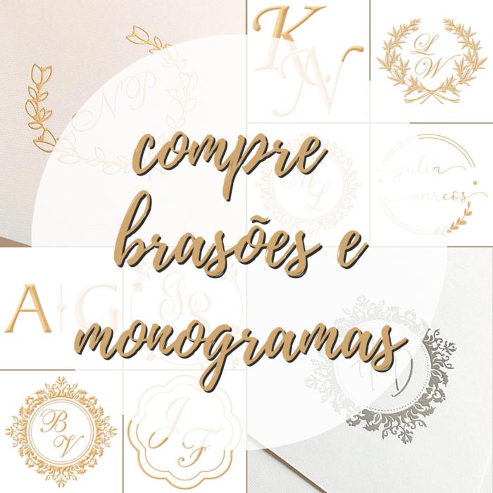 compre brasões e monogramas