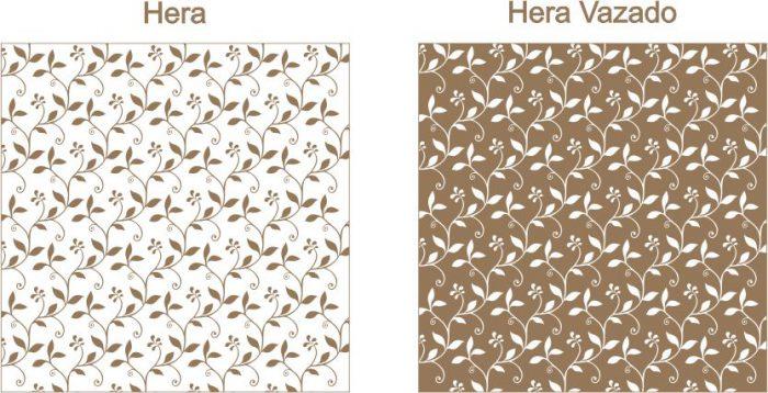 Estampa para convite Hera