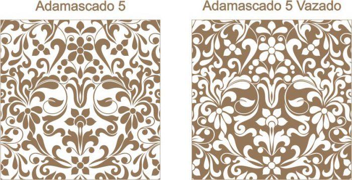 Estampa para convite Adamascado 5