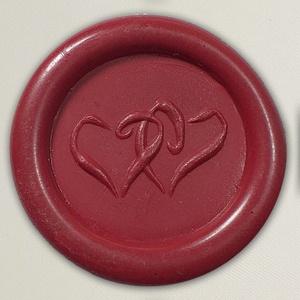 Lacre de resina para convite de casamento - Cor 16 Vinho - Art Invitte Convites
