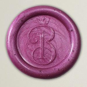 Lacre de resina para convite de casamento - Cor 18 - Rose Fosco - Art Invitte Convites