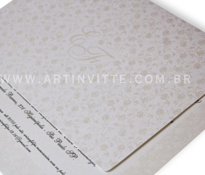 Convite de casamento Orlando OR 006