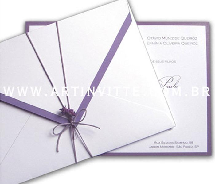Convite de casamento Orlando OR 008