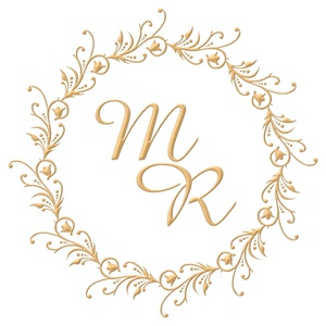 Brasão para convite de casamento modelo 03 - Art Invitte Convites
