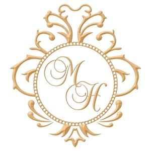 Brasão para convite de casamento modelo 05 - Art Invitte Convites