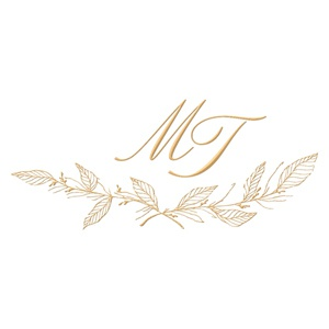 Brasão para convite de casamento modelo 101 - Art Invitte Convites