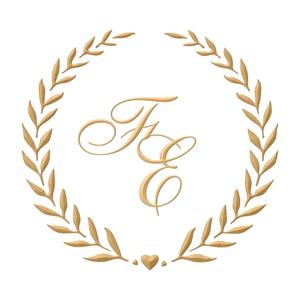 Brasão para convite de casamento modelo 103 - Art Invitte Convites