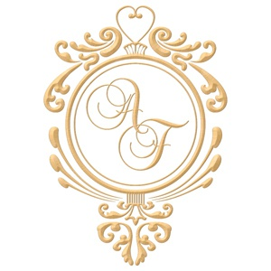 Brasão para convite de casamento modelo 11 - Art Invitte Convites