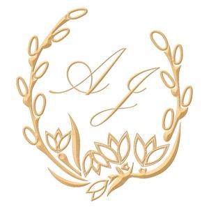 Brasão para convite de casamento modelo 12 - Art Invitte Convites