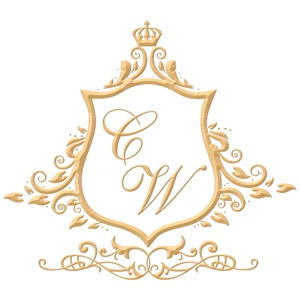 Brasão para convite de casamento modelo 13 - Art Invitte Convites