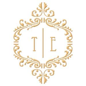 Brasão para convite de casamento modelo 16 - Art Invitte Convites
