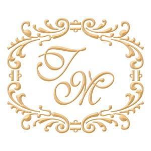 Brasão para convite de casamento modelo 27- Art Invitte Convites