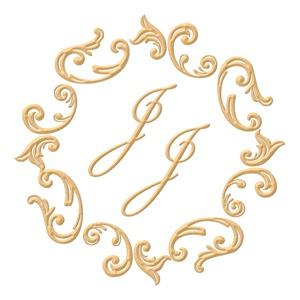 Brasão para convite de casamento modelo 32 - Art Invitte Convites