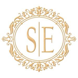 Brasão para convite de casamento modelo 35 - Art Invitte Convites