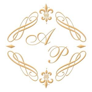 Brasão para convite de casamento modelo 36 - Art Invitte Convites