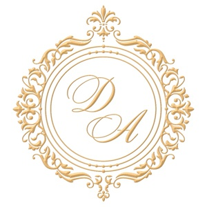 Brasão para convite de casamento modelo 37 - Art Invitte Convites