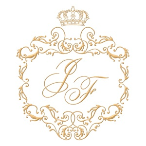 Brasão para convite de casamento modelo 39 - Art Invitte Convites